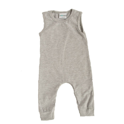 Tank Romper Heather Gray