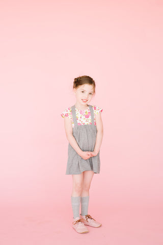 Leotard Short Sleeve Floral