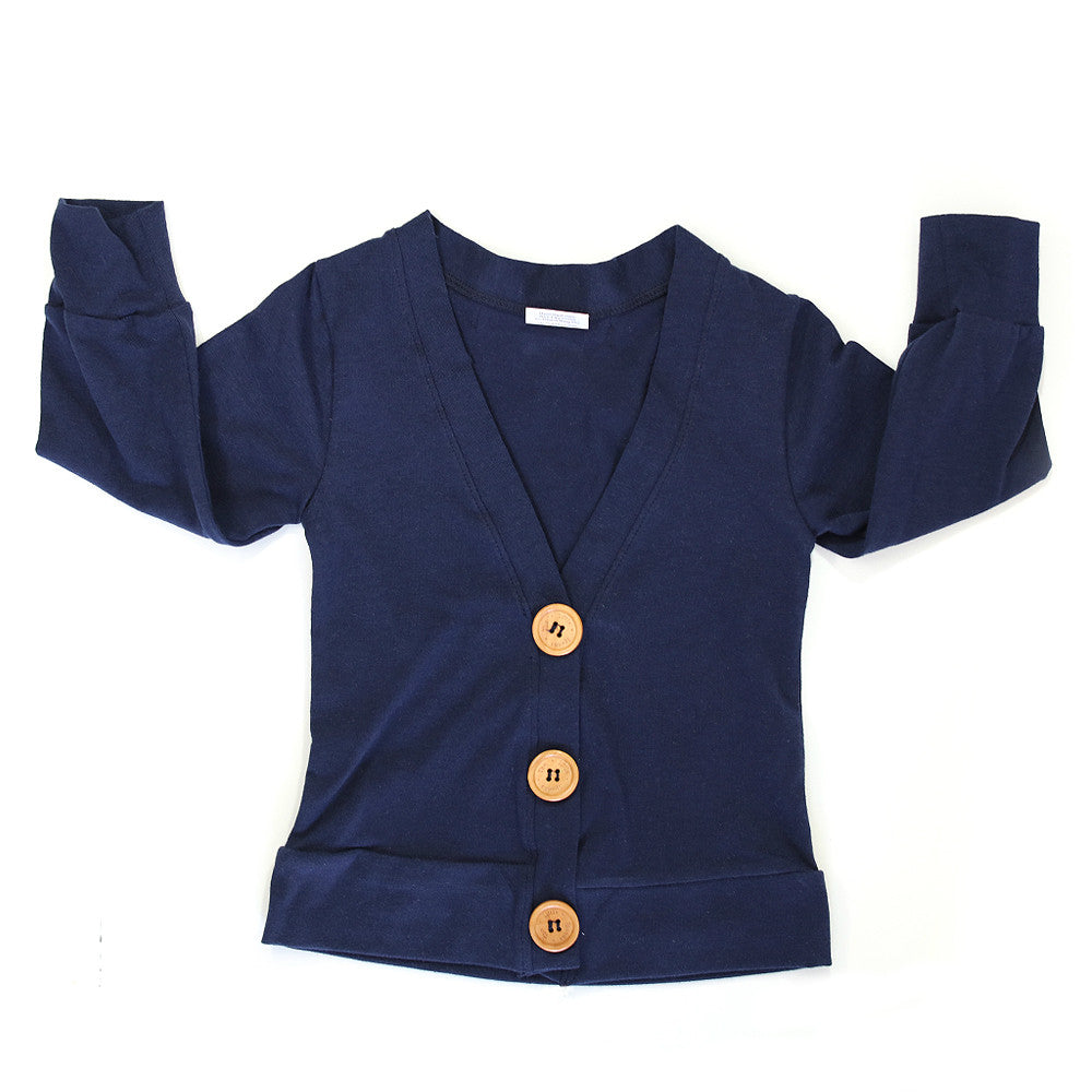 Everyday Cardigan Navy