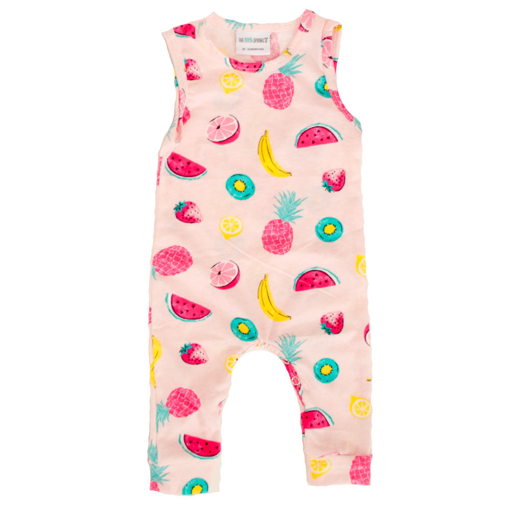 40c6f7850dc Tank Romper Fruity Pink – The Little Spoons