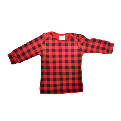 Everyday Basic Tee Buffalo Plaid