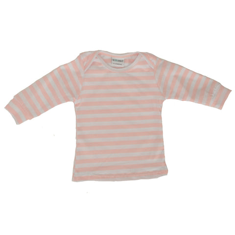 Everyday Basic Tee Sweetheart Pink Stripe