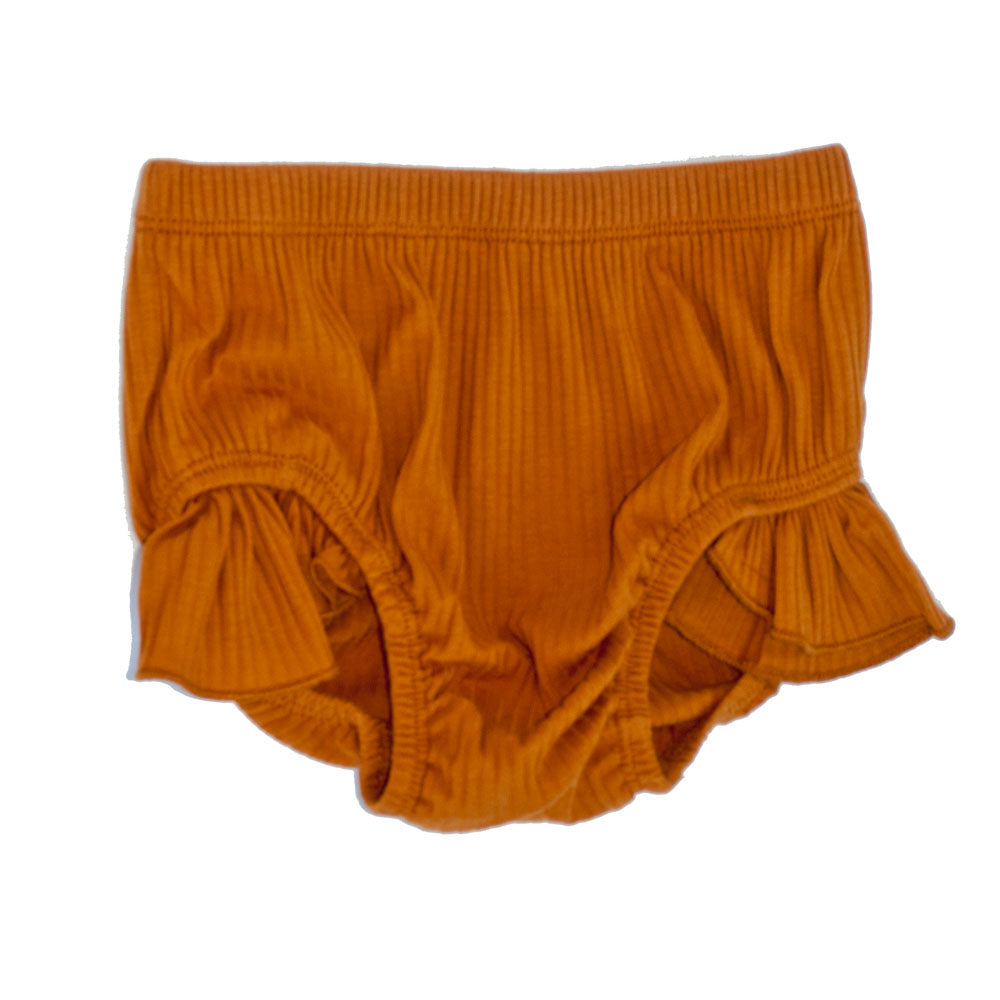 Flutter Bloomers Pumpkin Spice Ribbed