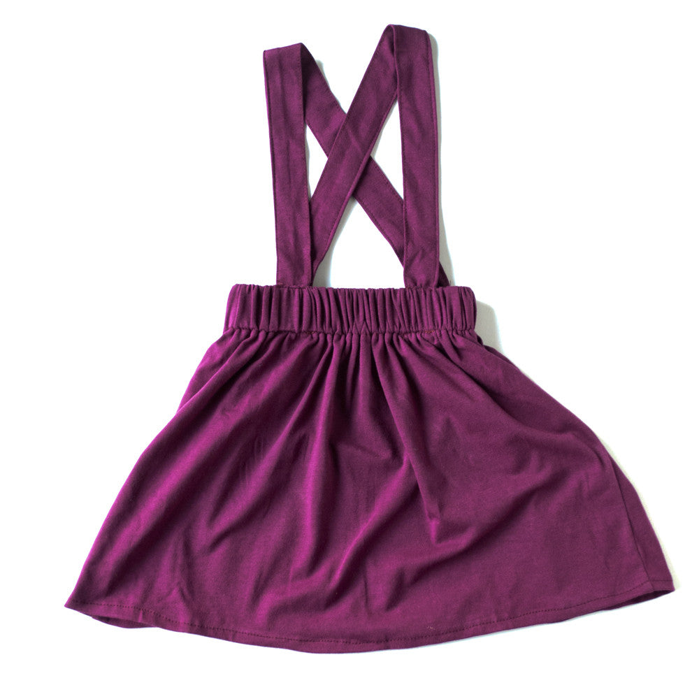 Mulberry Suspender Skirt