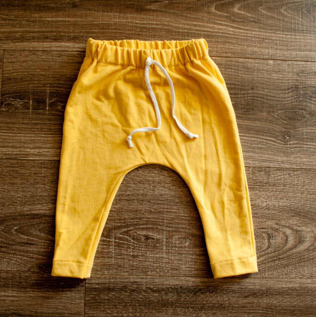 DOOR BUSTER: Yellow Slim Joggers
