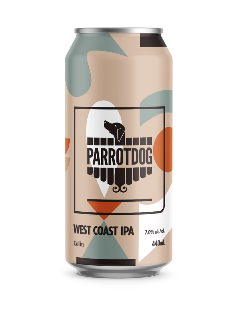 Colin West Coast IPA 440ml Can
