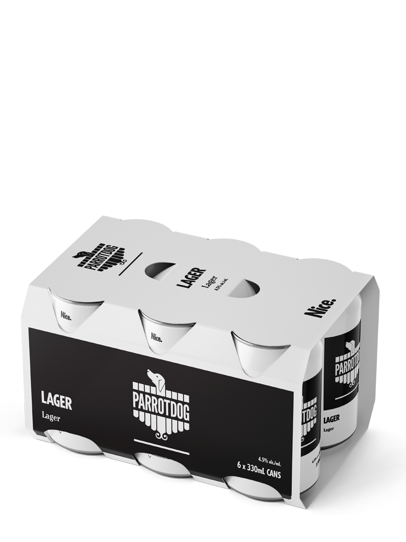 Lager 6 Pack Cans
