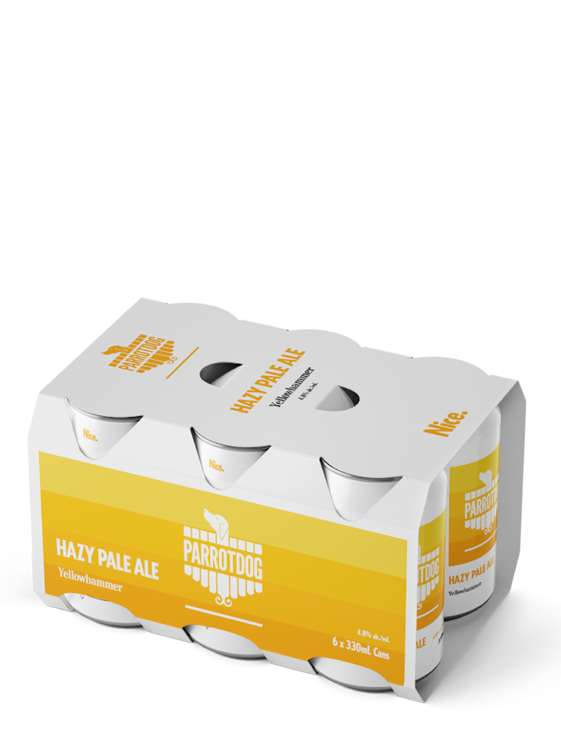 Parrotdog | Yellowhammer Hazy Pale Ale 6 Pack 330mL Cans