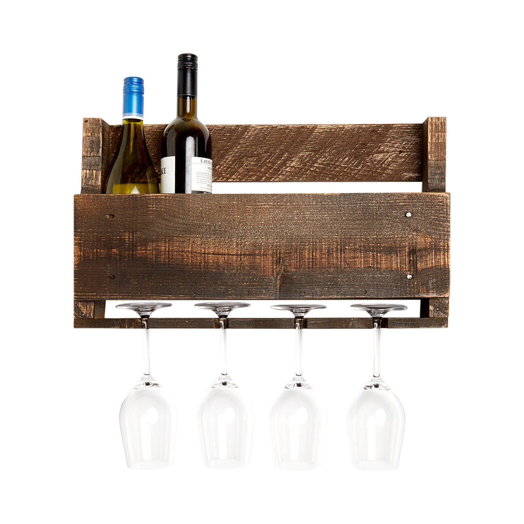 Little Elm - Wine and Glass Rack