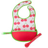 B.Box Travel Bib & Spoon