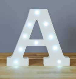 Up In Lights Letters
