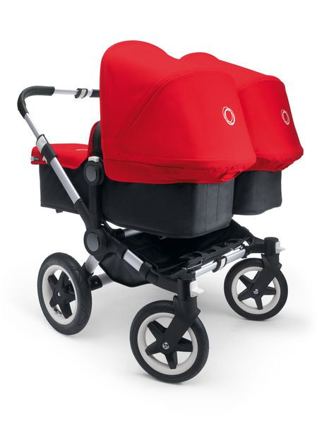 Bugaboo Donkey Twin Silver Frame