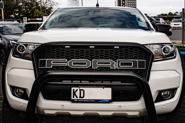 DIY: Make new face of your Ford Ranger with Nudge Bar compatible with parking sensors.