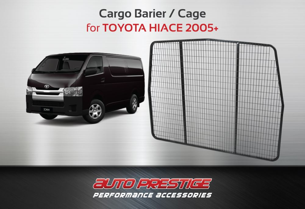 Cargo Barrier / Cage for Toyota Hiace 2005+