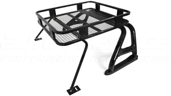 Black Roll Bar With Roof Rack For Toyota Hilux 2015
