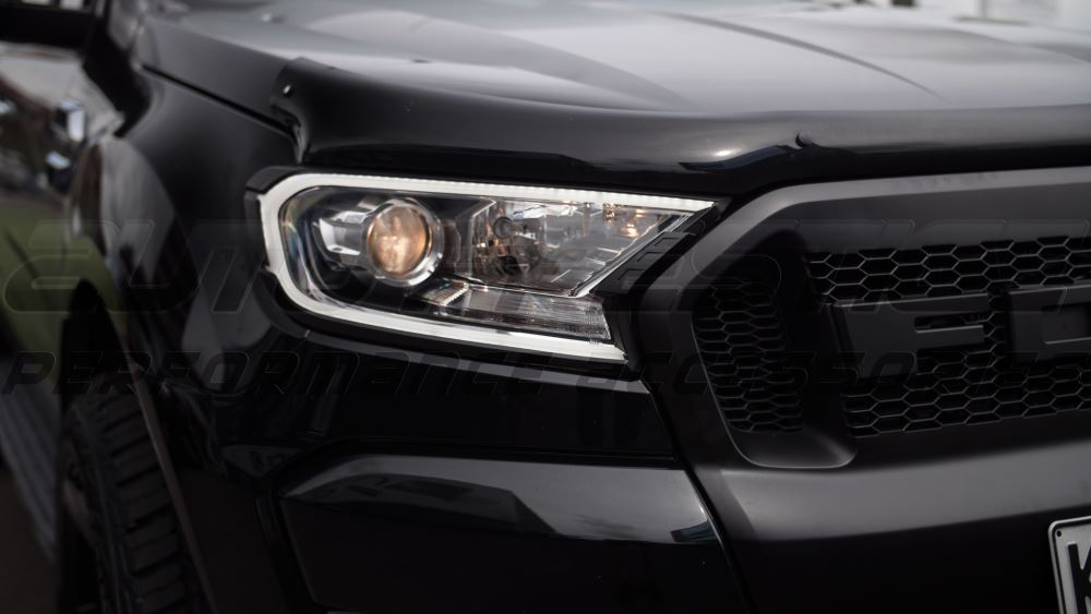 Drl Headlight Trims For Ford Ranger 2015 Present Auto