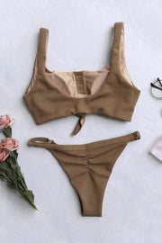 Flirty Button Up Bikini