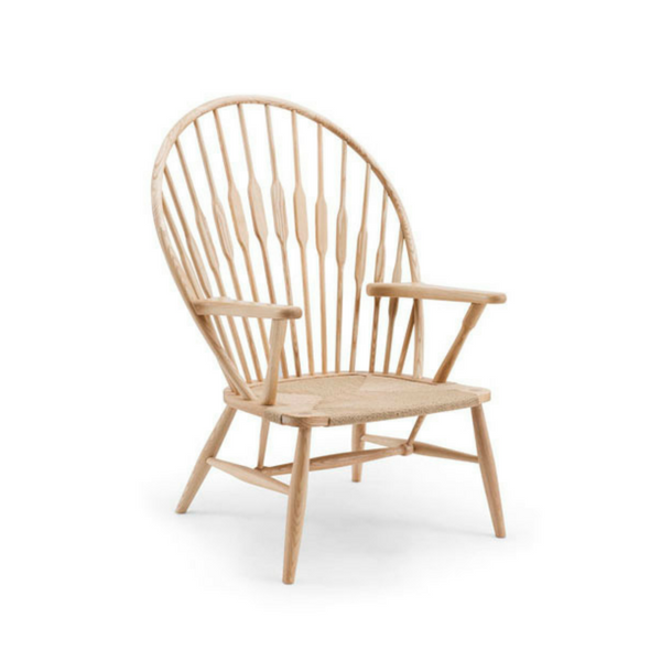 PEACOCK TIMBER CHAIR