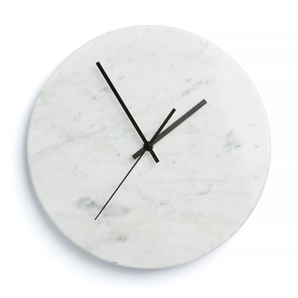 Carrara Marble Clock