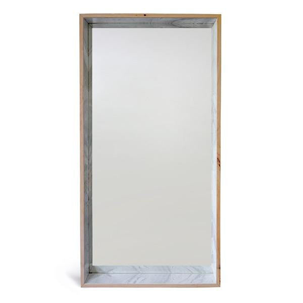 Free Standing Marble Mirror
