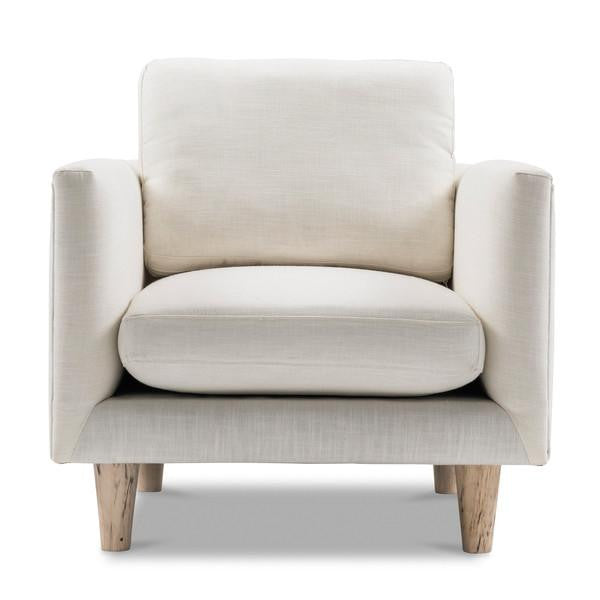 Scandinavian Armchair White