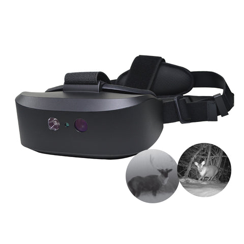 Night Vision Goggles, Binocular Structure on Head to observed in dark environment for hunting, camping, exploration, searching and rescuing, etc. B201