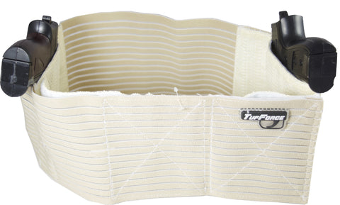 Tufforce Concealed Belly/Chest Band Holster (2 colours: khaki/black), Shipping from Michigan