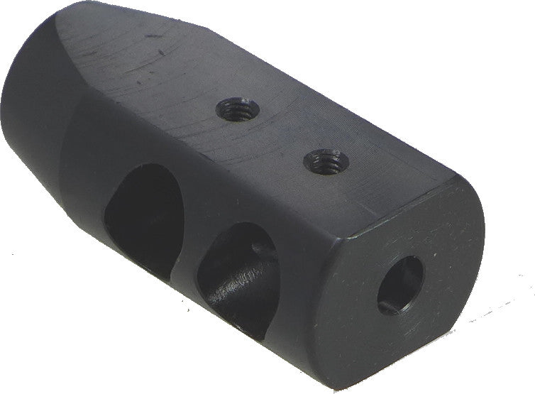 "Tufforce Muzzle brake for 1/2""-28 Barrel, MB-50H28R6, 50mm / 2"" length"