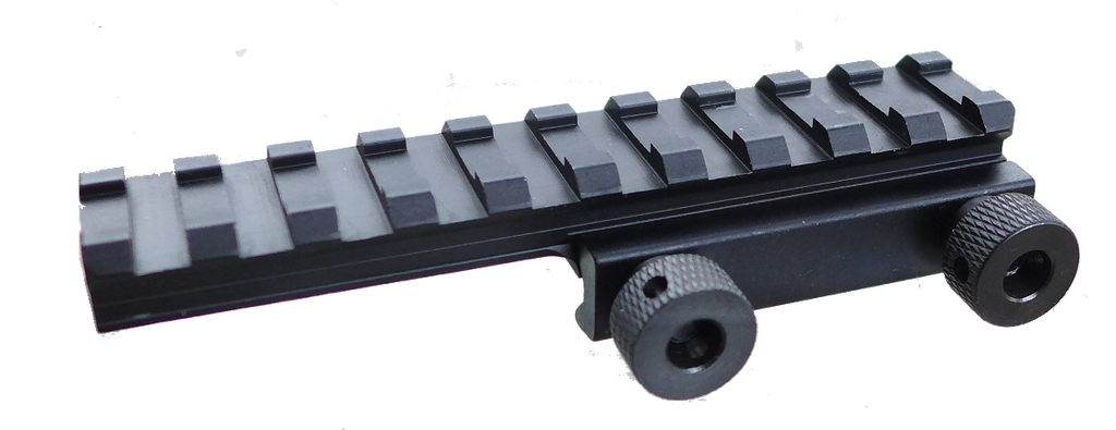 "Tufforce 1/2"" Profile Extended Riser Mount, Cantilever, 10 Slots , Picatinny Flat Top Riser Rail ,105 mm / 4"""