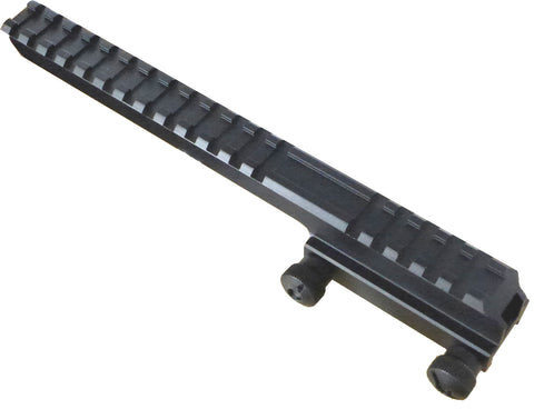 "Tufforce 1"" High Extension Riser Picatinny /Weaver Mount for dot sight and scope, 22 slots, Shipping from MI, USA"