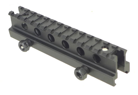 "Tufforce 9 Slot, 14 slots, 1"" Riser Mount, MT-1RT14, with big See-Through, 6"" length"