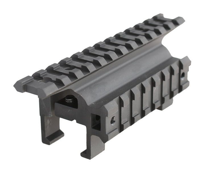 12 Slots Claw Mount for H&K MP5 / GSG5, Top & Side Rail , MT-3HK12R