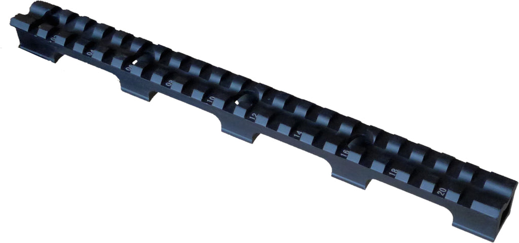 RUGER SR22 top rail mount, span style, MT-RG25A, 25 slots, Shipping from MI for USA customers