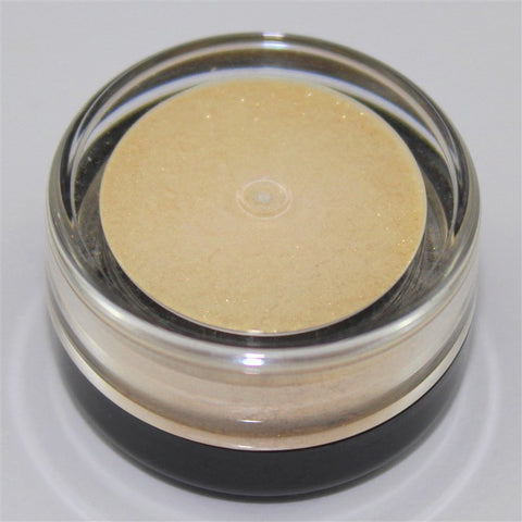 jar of eyeshadow powder - argent shade