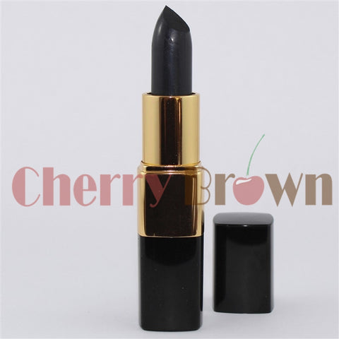Natural Lipstick | Gothic Black