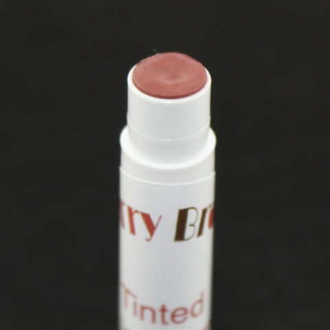 Natural Red Tinted Lip Balm Close Up