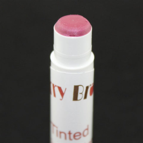 Cool Pink Tinted Lip Balm Close Up