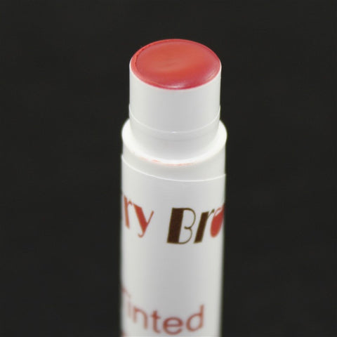 Raspberry Creme Tinted Lip Balm Close Up