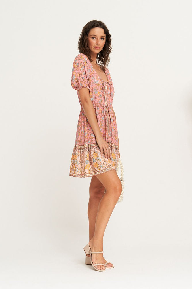 arnhem honey mini dress rose