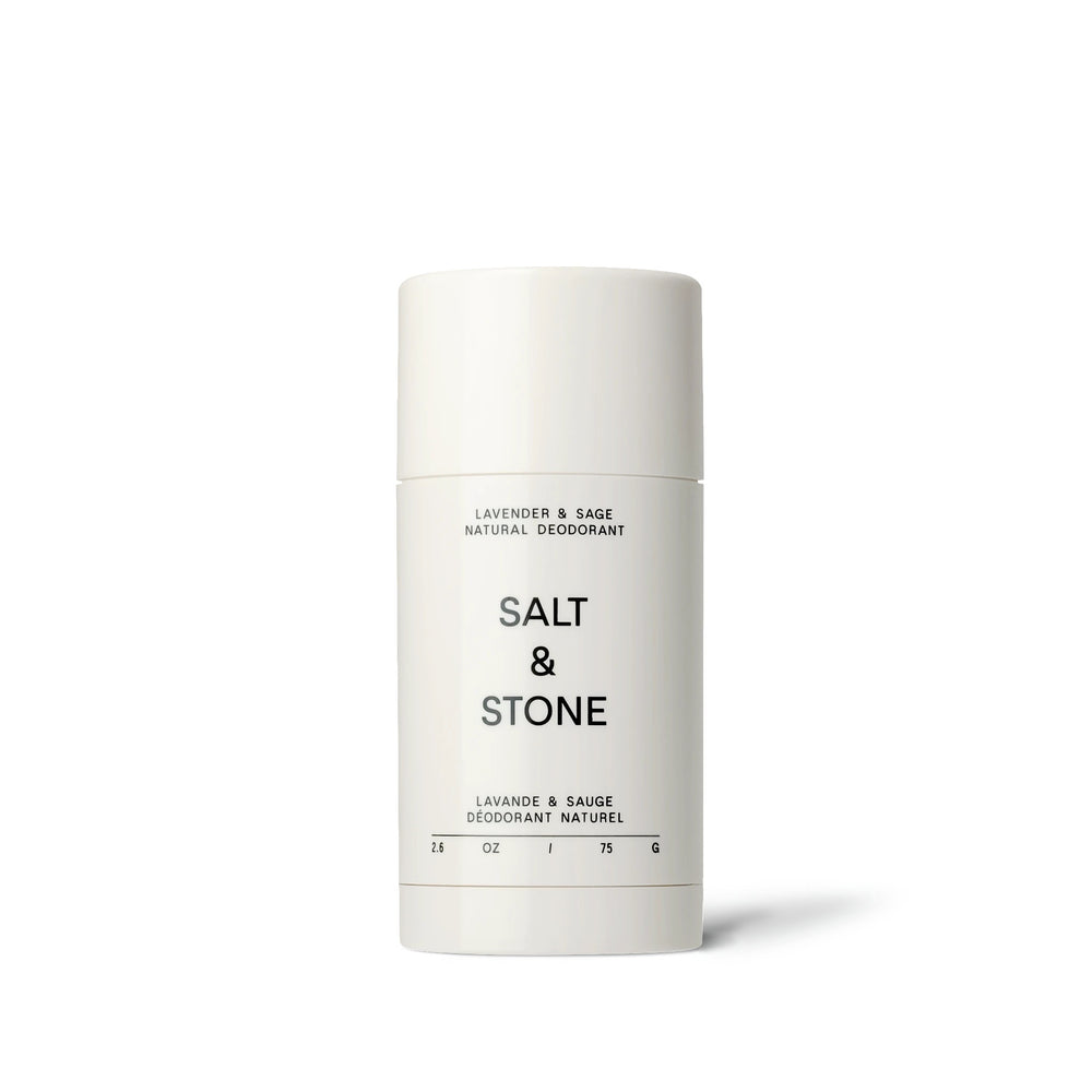 salt and stone natural deodorant lavender and sage