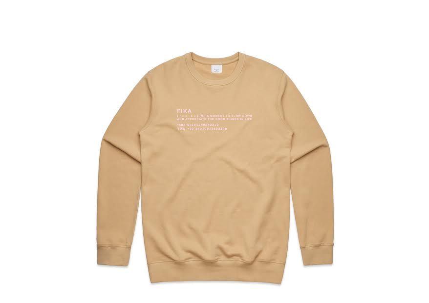 good things crew tan with pink TAKE 20% OFF