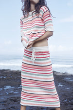 rue stiic mara skirt retro stripe