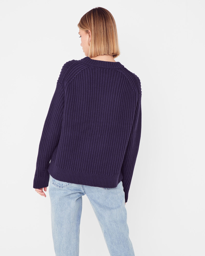 assembly label myla knit indigo