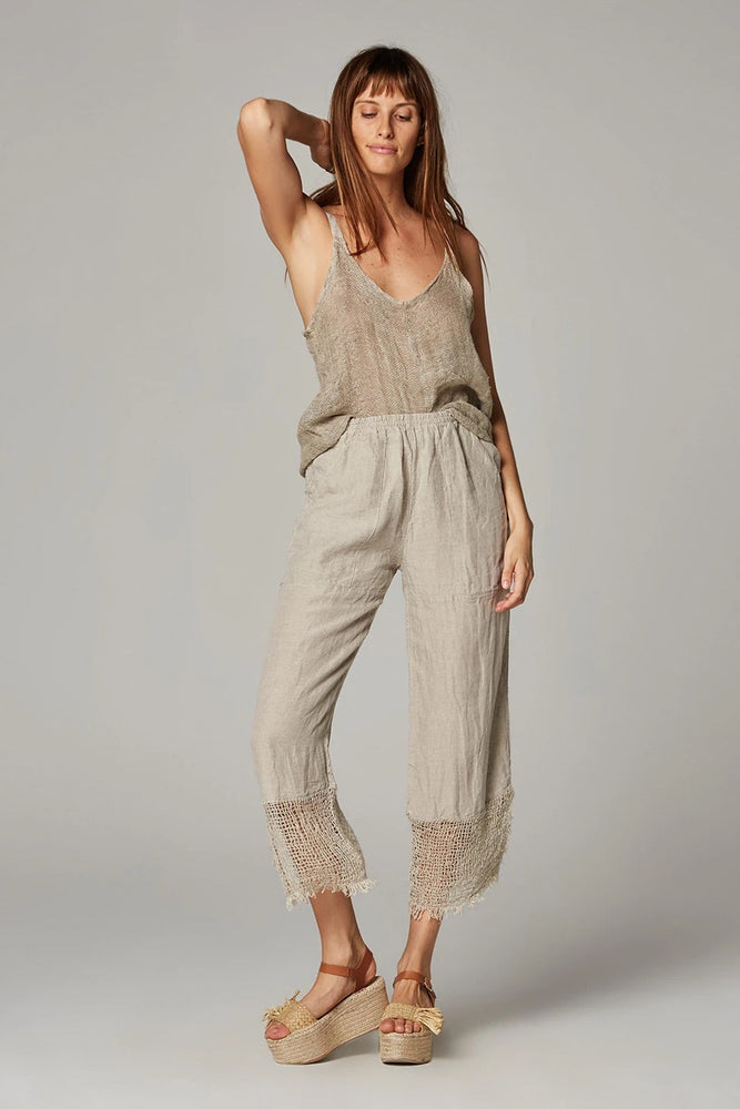 TAKE 30% OFF estilo emporio lounge pant battista natural