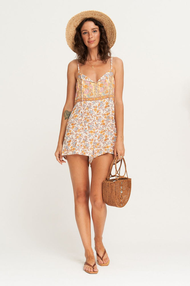 arnhem honey romper coconut cream