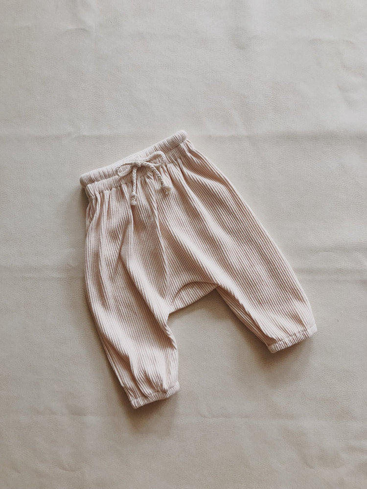 tiny trove iggy track pants cream