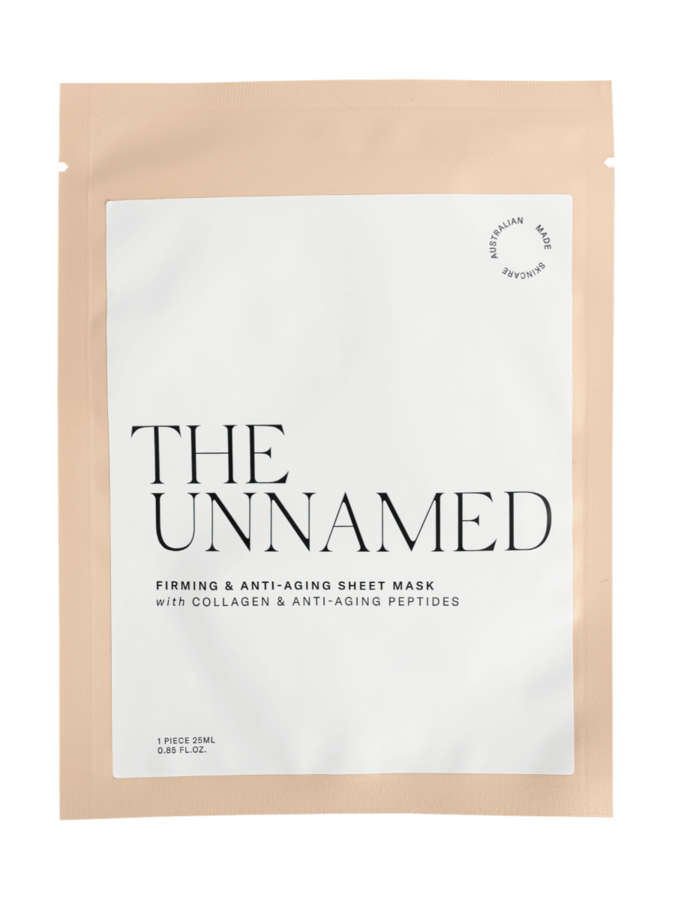 the unnamed firming and anti-aging sheet mask