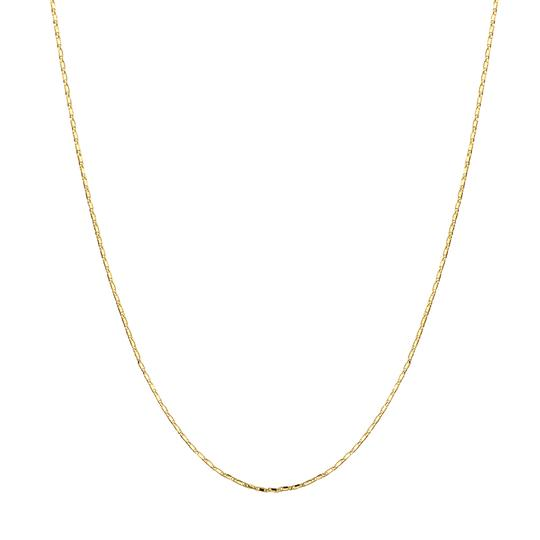 brie leon mini amar chain necklace gold