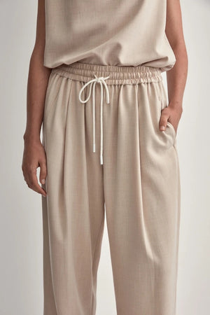 c&m benito blocked pant oatmeal
