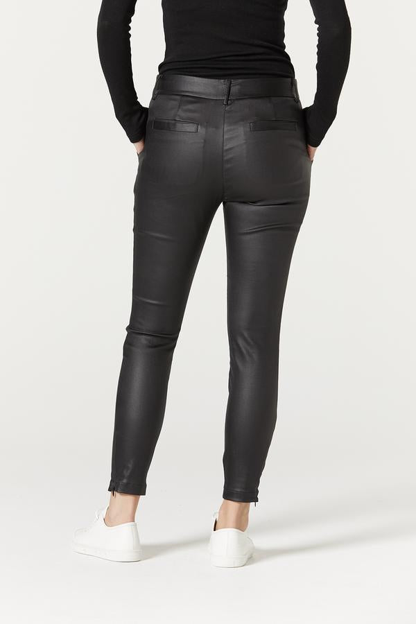 cable steph waxed pant black